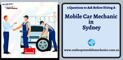 Mobile Car Mechanic Sydney